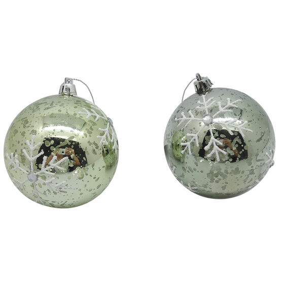 Snowflake Ball Ornament - CE4158-15S1 - Assorted