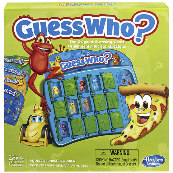 The Original Guess Who Guessing Game