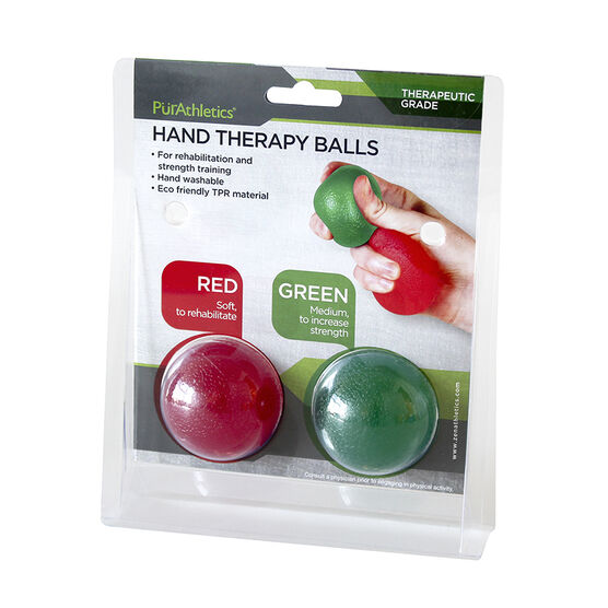 PurAthletics Hand Therapy Balls - 2 Piece