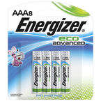 Energizer Eco Advance Battery - AAA - 8 pack