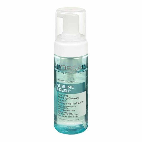 L'Oreal Sublime Fresh Purifying Foaming Cleanser - 150ml