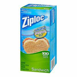Ziploc Sandwich Bags - 100's