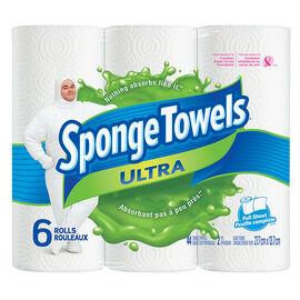 SpongeTowels Ultra - Full Sheet - 6 rolls
