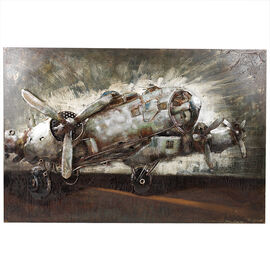 London Drugs Metal Print Flight Plane