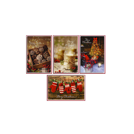 American Greetings Deluxe Christmas Cards - Photo - 14 count - Assorted