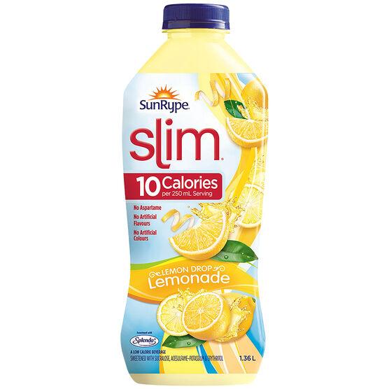 SunRype Slim Juice - Lemon Drop Lemonade - 1.36L