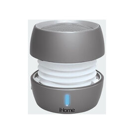 iHome Bluetooth Mini Speaker - Silver - IBT73SC