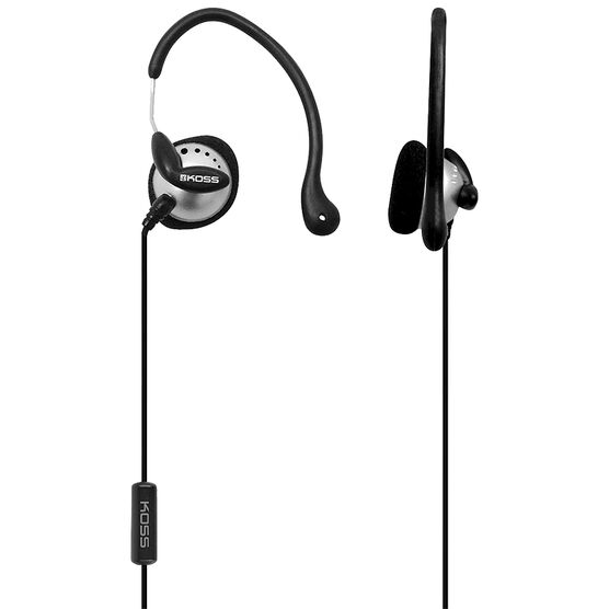 Koss Sport Clip Headphones - Black/Silver - KSC22I