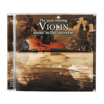 Various Artists - The Most Relaxing Violin Music in the Universe - CD