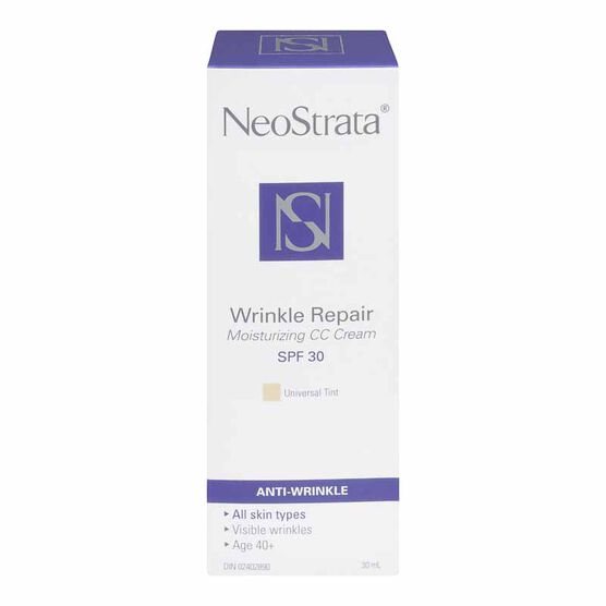 NeoStrata Intense Wrinkle Repair Moisturizing CC Cream with SPF 30 - Universal Tint - 30ml