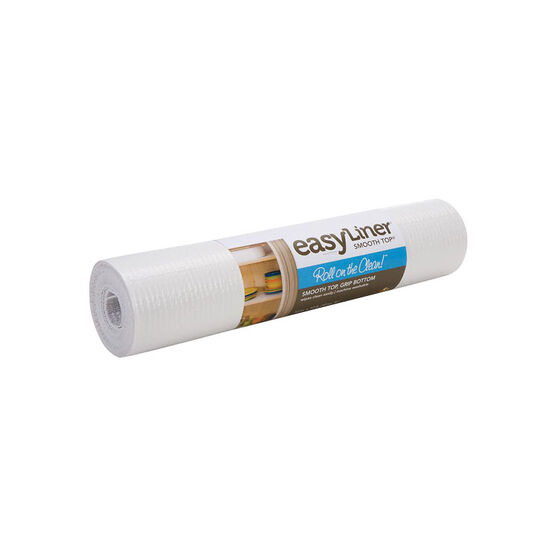 Shurtech Smooth Top Easy Liner - White - 12 inches x 5 feet
