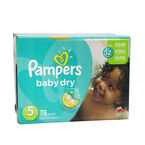 Pampers Baby Dry Diapers - Size 5 - 78's