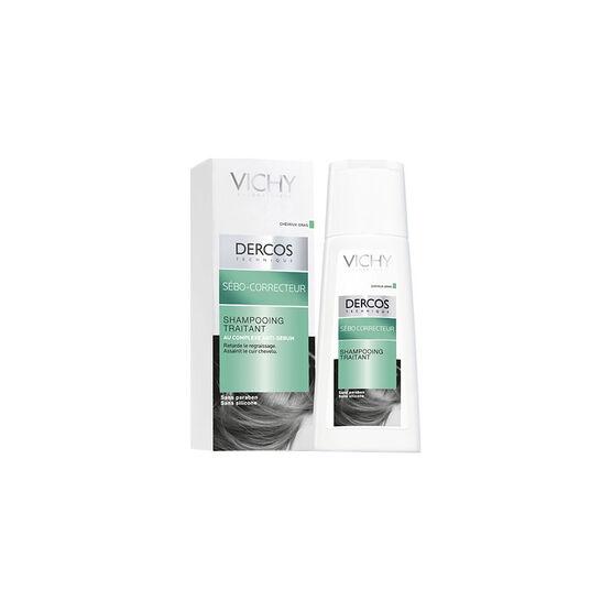 Vichy Dercos Oil Control Treatment Shampoo - 200ml