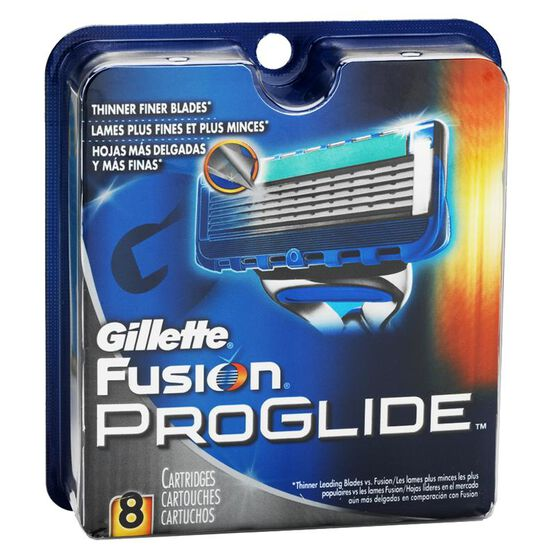 Gillette Fusion ProGlide Manual Blades - 8 cartridges