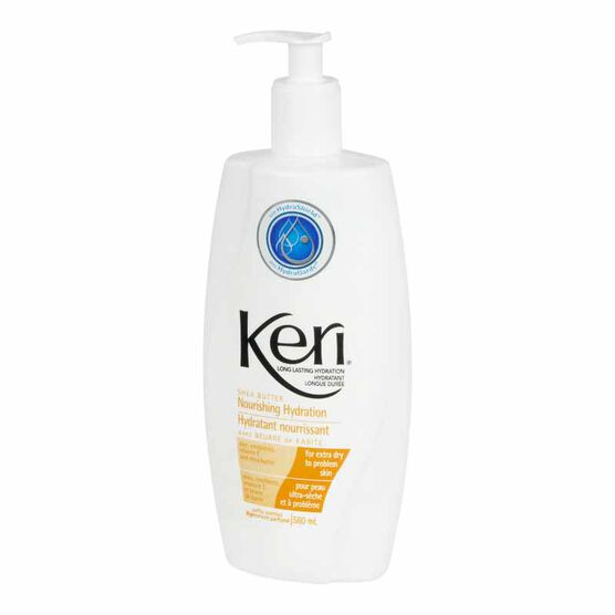Keri Nourishing Hydration Body Lotion - Shea Butter - 580ml