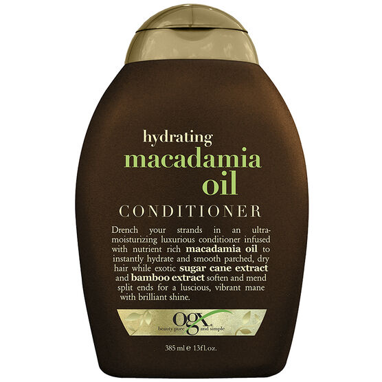 OGX Hydrating Macadamia Oil Conditioner - 385ml