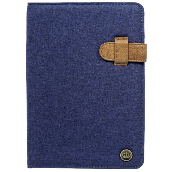 PKG Universal Folio Case for 7-8-inch Tablets - Blue