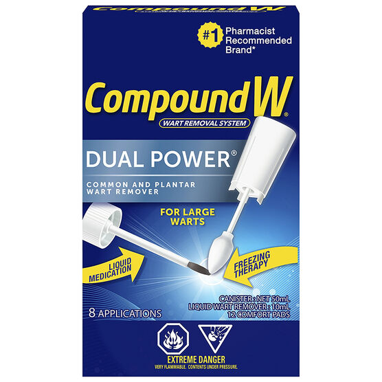 Compound W Dual Power Wart Remover - 8 applications