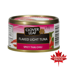 Clover Leaf Flaked Light Tuna - Spicy Thai - 85g