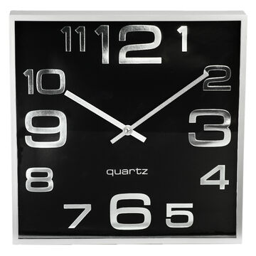 London Drugs Wall Clock - Rome - Silver