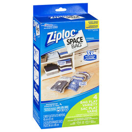 Ziploc Space Bag Dual Use - 4's