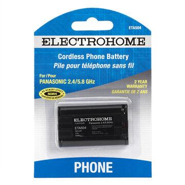 Electrohome Cordless Phone Battery - Panasonic HH - ETA504
