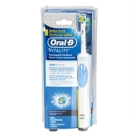 The Oral-B Vitality plus is a budget range electric toothbrush that sits below the Oral-B Pro in the Oral-B range. As with most budget range electric toothbrushes, it provides great value for money however at the cost of some features%.