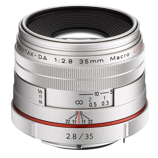 Pentax HD DA 35mm f2.8 Limited Lens - 21460 - Silver