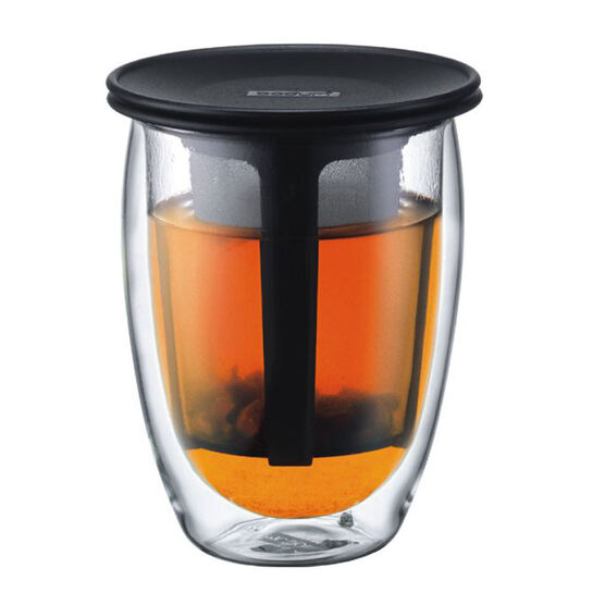 Bodum Tea For One - Black - 0.35L