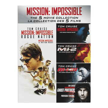 Mission: Impossible - Five Movie Collection - DVD
