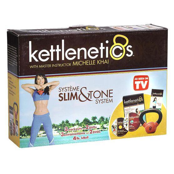 Kettlenetics Slim & Tone System