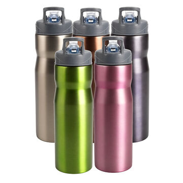 London Drugs Stainless Steel Sport Bottle - 800ml - Assorted