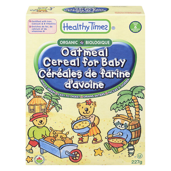 Healthy Times Baby Cereal - Oatmeal - 227g
