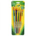 Crayola Premium Paint Brushes - 5 pack