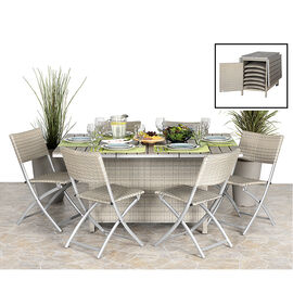 Livingston Patio Dining Set - 7 piece - AP3635