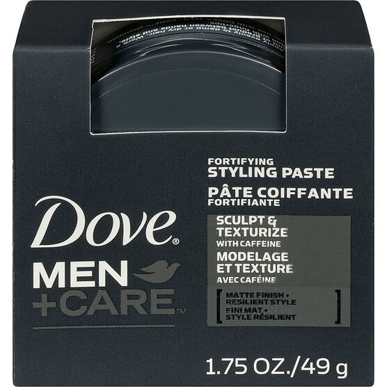 Dove Men+Care Sculpt & Texture Fortifying Styling Paste - 49g