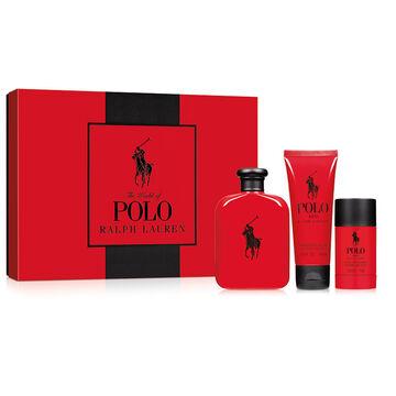 Ralph Lauren Polo Red Set - 3 piece
