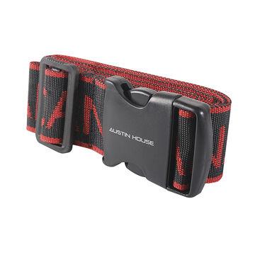 Austin House Canada Luggage Strap - Red/Black