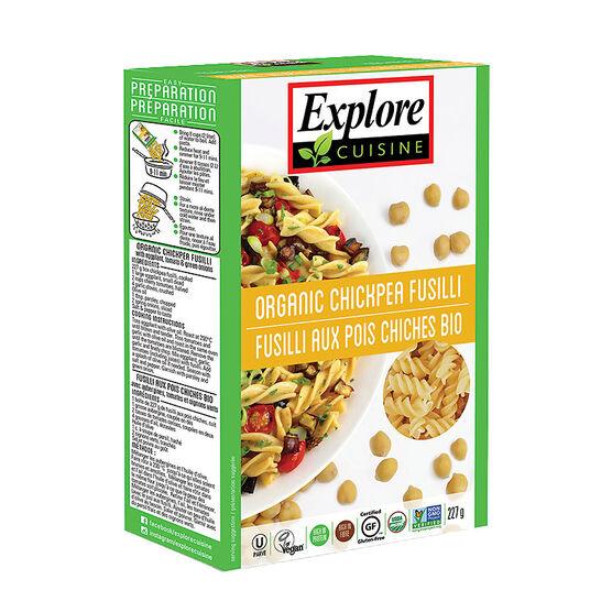 Explore Cuisine Fusilli - Chickpea - 227g