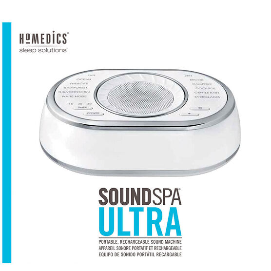Homedics SoundSpa Ultra Sound Machine - SS-6050-CA