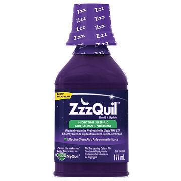 ZzzQuil Liquid Nighttime Sleep Aid - Berry - 177ml