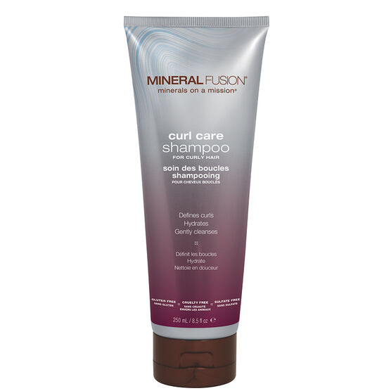 Mineral Fusion Shampoo - Curl Care - 250ml