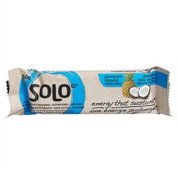 SoLo Gi Energy Bar - Pineapple Coconut - 50g