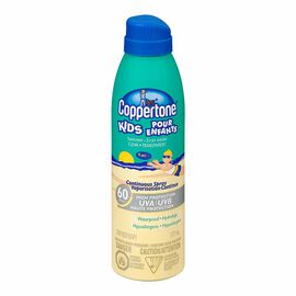 Coppertone Kids Continuous Spray Clear Sunscreen - SPF 60 - 177ml