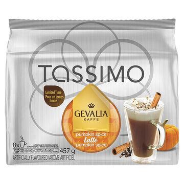 Tassimo Gevalia Pumpkin Spice Latte - 8 servings