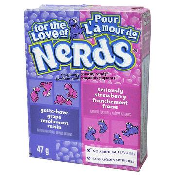Wonka Nerds - Grape/Strawberry - 46.7g