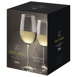 Libbey Vineyard Reserve Pinot Grigio Wine Glasses - 16oz/4 pack