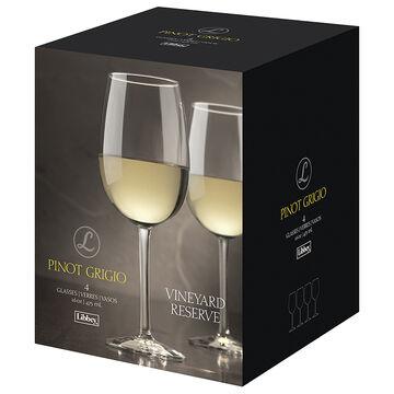 Libbey Vineyard Reserve Pinot Grigio Wine Glasses - 16oz/4 pack