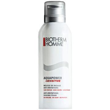 Biotherm Homme Aquapower D-Sensitive Shaving Foam - 200ml