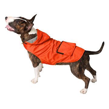 London Drugs Pet Rain Coat - Orange - Small